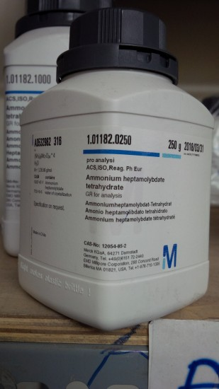 Ammonium molybdate (NH4)6Mo7O24